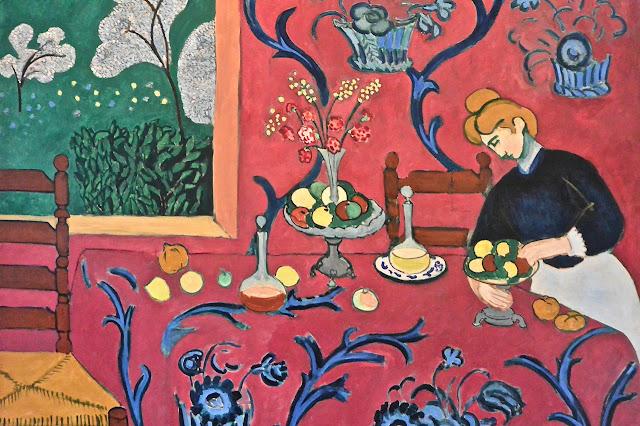 Saint Pétersbourg: Matisse Harmonie en rouge musée de l'Ermitage2 Etat-Major face au palais d'Hiver