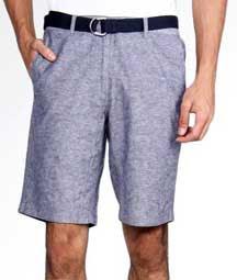 Celana bermuda yaitu celana yang panjangnya lebih kurang 10 cm diatas lutut