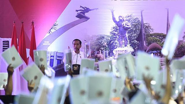 BPN Tarik Lagi 100 Sertifikat Tanah Program Jokowi
