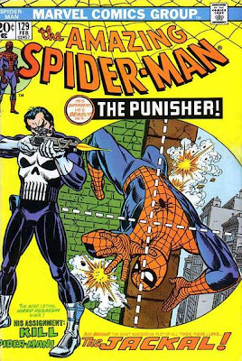 Amazing Spider-Man #129, first appearance of the Punisher and the Jackal