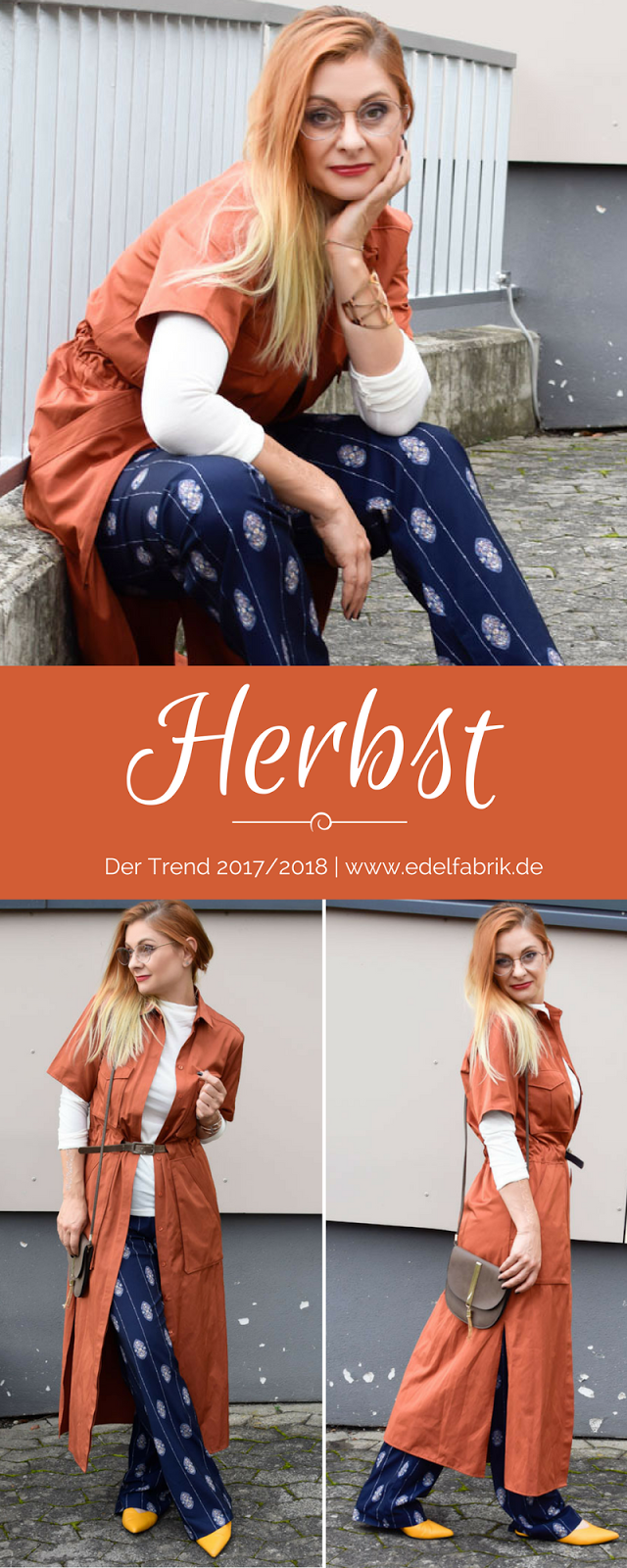 Mode für Frauen über 30, Mode für Frauen 40, Ü40 Blog, Marlenehose, Mustermix