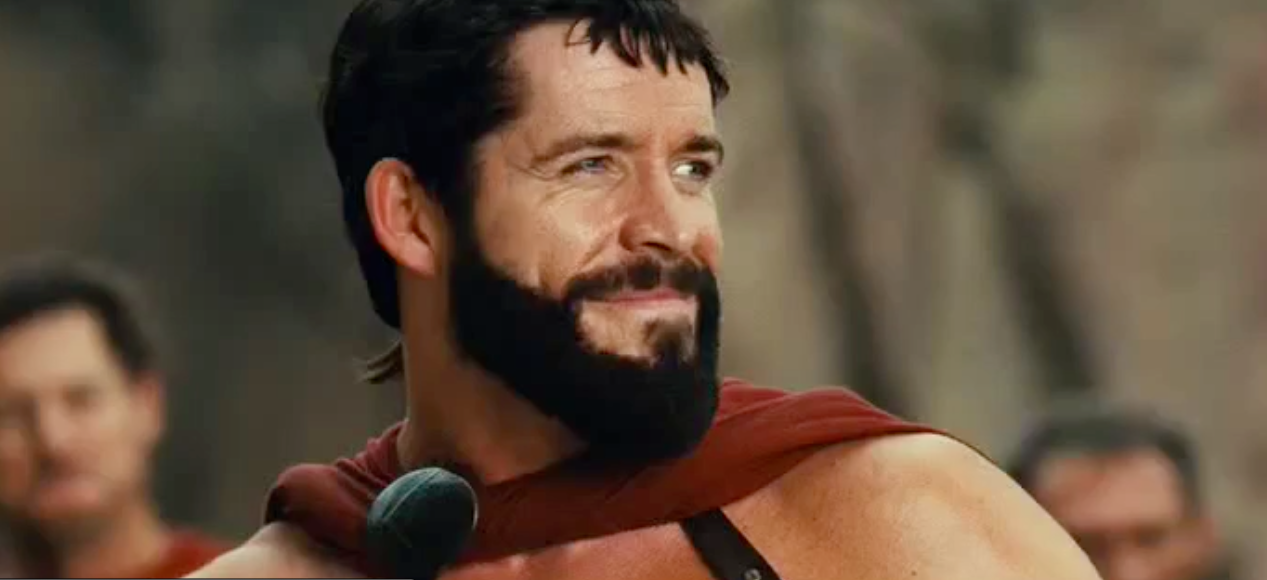 who plays xerxes in meet the spartans pit