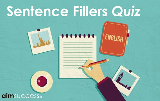 Double Fillers - English MCQ for SBI /SSC CHSL