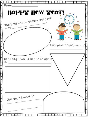 For the Love of First Grade: Ring in the New Year with a