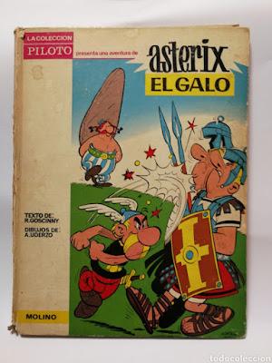 Asterix el galo de Uderzo y Goscinny efemérides  60 años