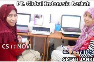 Lowongan Kerja Pekanbaru : PT. Global Indonesia Berkah Oktober 2017