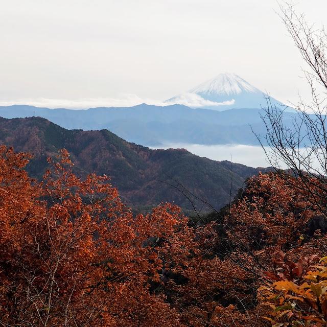 昇仙峡 うぐいす谷 富士山遥拝所