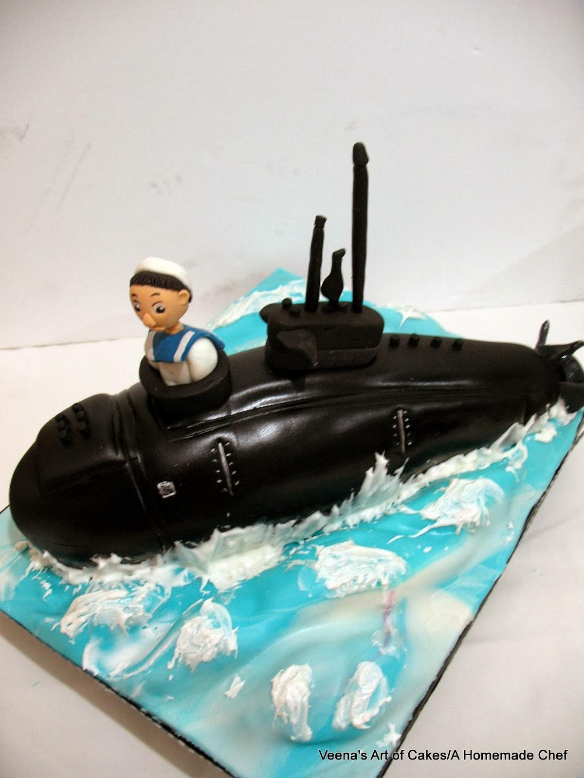 Birthday Cake Submarine