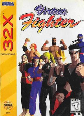 Review - Virtua Fighter - SEGA 32X