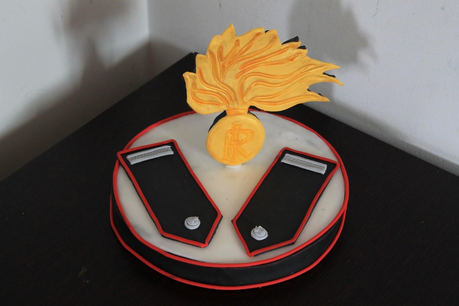 Ledeliziedive carabinieri cake topper