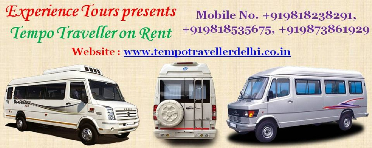 Tempo Traveller Delhi - Luxury Tempo Traveller on Rent
