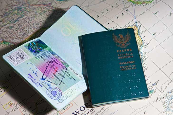 bebas visa paspor indonesia