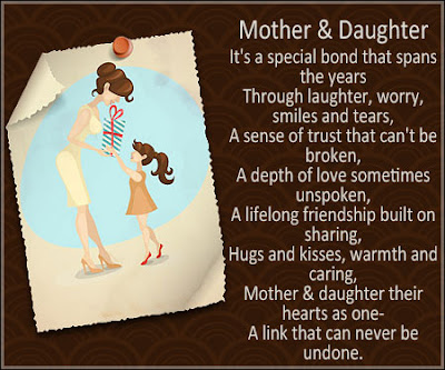 Happy Mother's Day 2018 Poems for Daughter