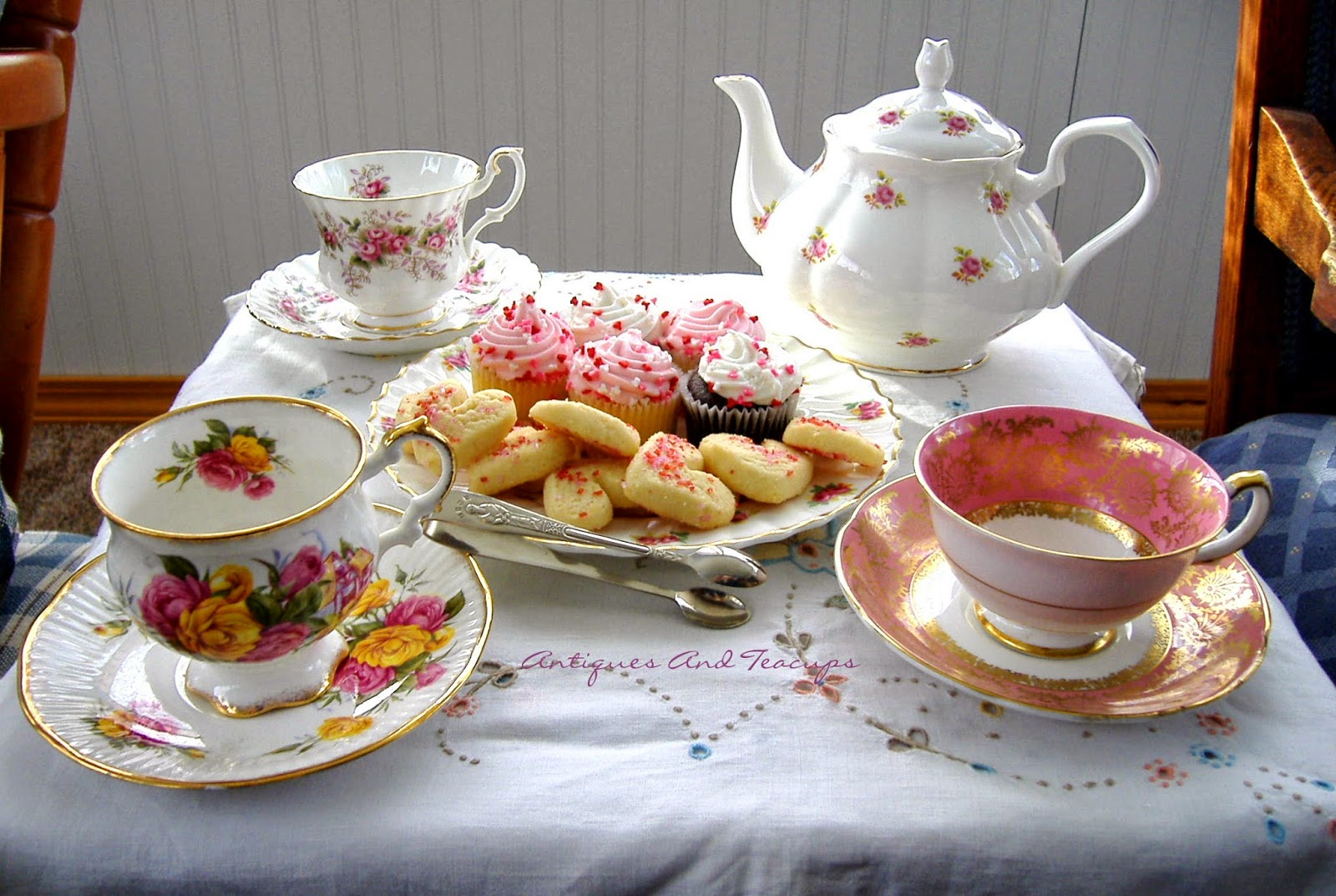 But The Sunroom Is Where We Always Are For Morning Tea, Elevenses And  Afternoon Tea, So.