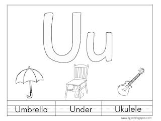 printable letter u worksheets preschool handwriting free