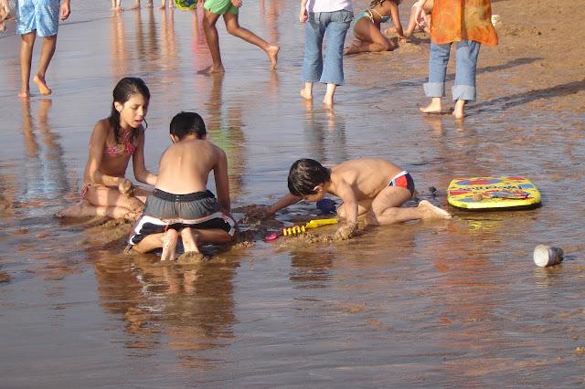 Plaża Bouznika Maroko