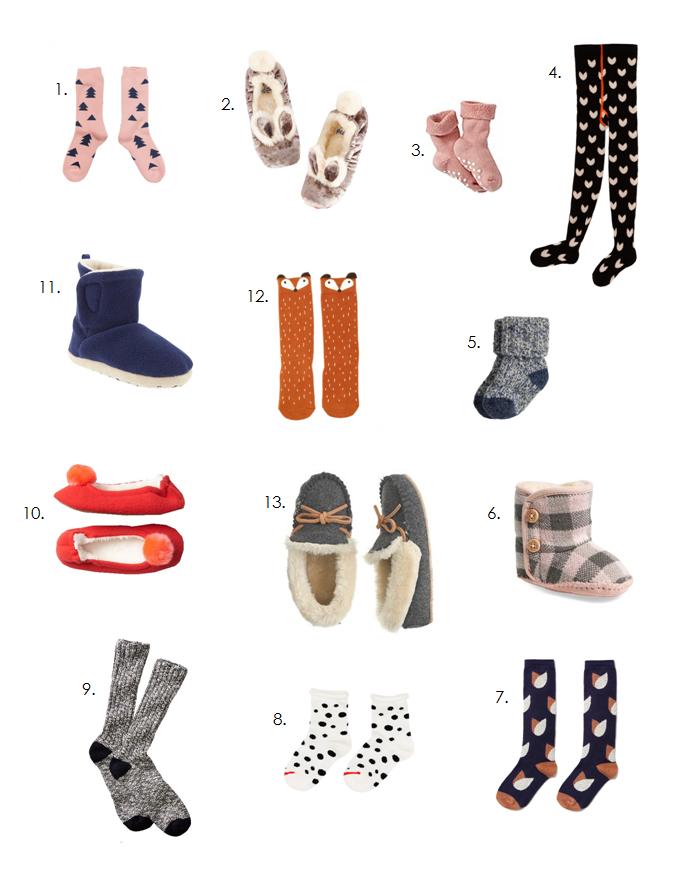 cozy socks for little ones