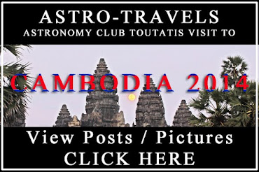 Read Club's Astronomy trip in Cambodia