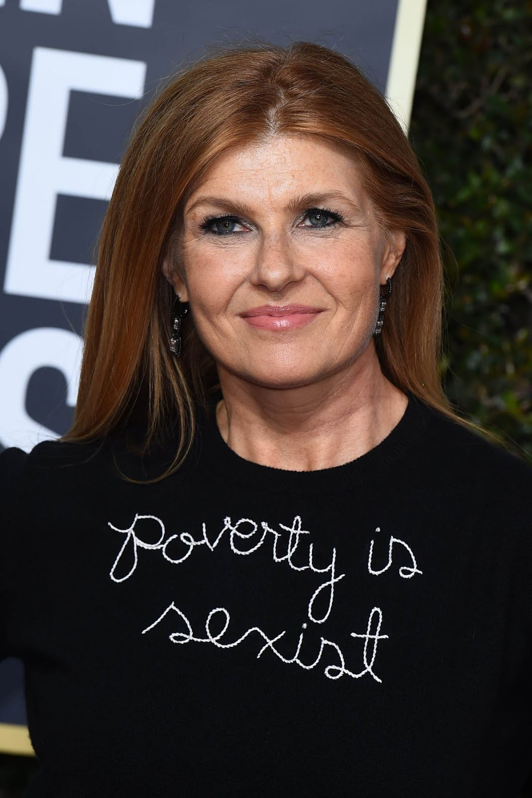 HD Photos of Connie Britton At 75Th Annual Golden Globe Awards In Beverly Hills