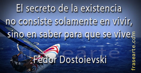 frases para la vida - Fedor Dostoievski