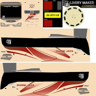 Download Livery Bus Murni Jaya