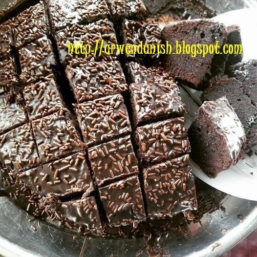 Resepi kek span coklat sedap