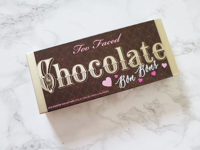 Too Faced Chocolate Bon Bons Palette Box