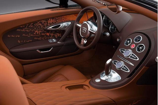 Bugatti Veyron Grand Sport Venet Interior