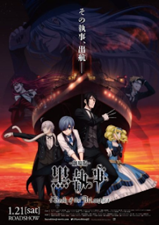 Kuroshitsuji Movie Book of the Atlantic Subtitle Indonesia