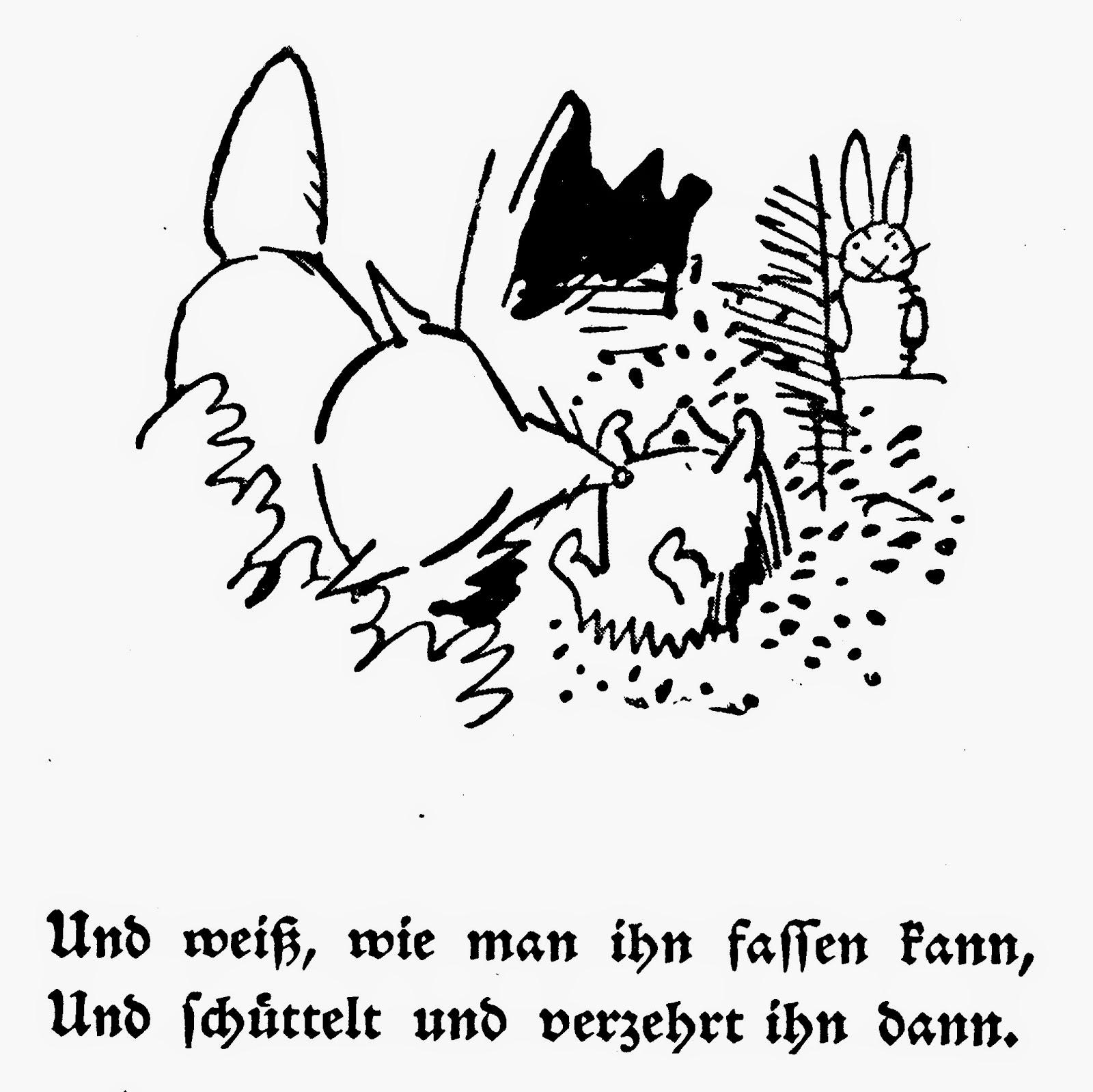 Wilhelm Busch Naturgeschichtliches Alphabet