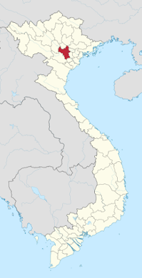 Vị trí bản đồ Hà Nội
