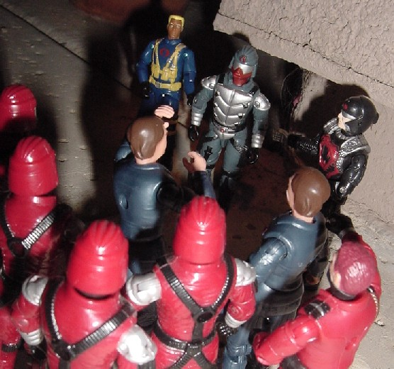 2003 Crimson Guard Immortal, KB Toys Exclusive, Skeres, Abutre Negro, Brazil, Estrela, Patrulha do Ar, Black Vulture, 1991, Tomax and Xamot