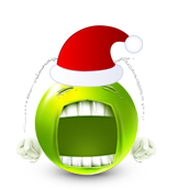 Christmas Smiley Icon 13