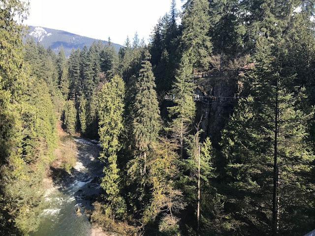 Vancouver BC, Outdoor adventures, BC Canada, Suspensionbridges