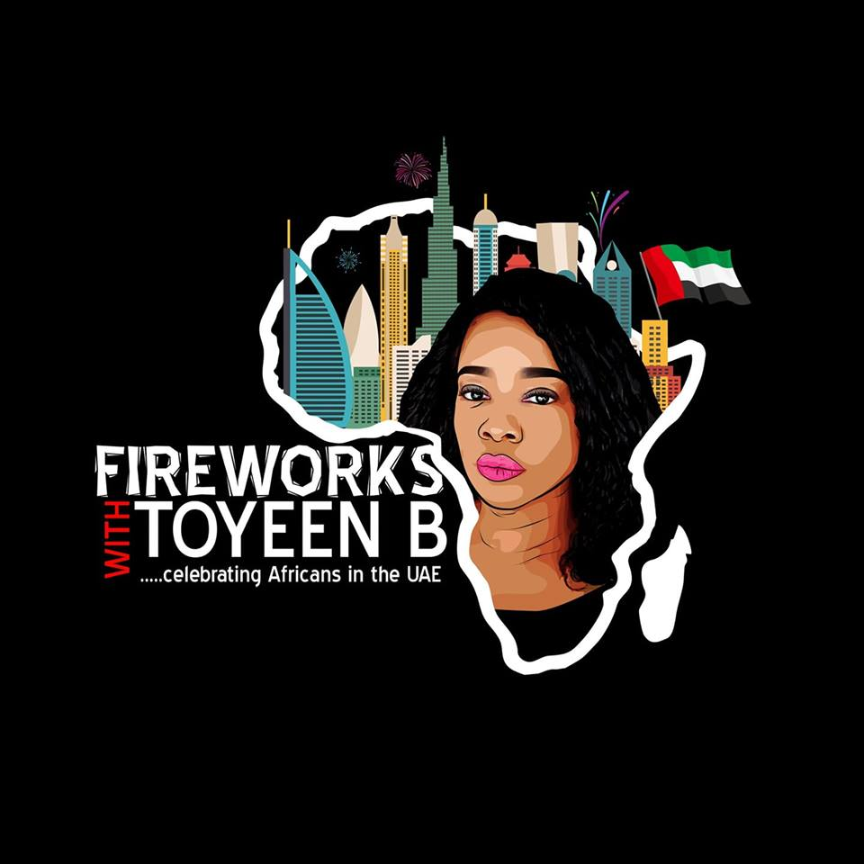Fireworks With Toyeen B. Celebrating Africans In The UAE.