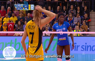 CEV Volleyball Champions League Biss Key AsiaSat 5 21 February 2019