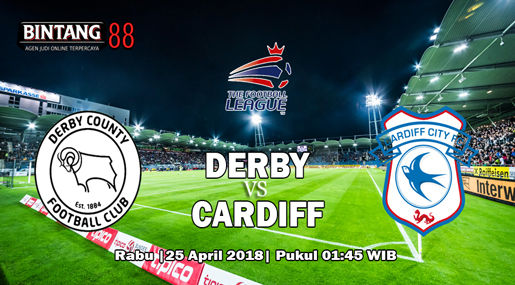 Prediksi Derby Country Vs Cardiff City 25 April 2018