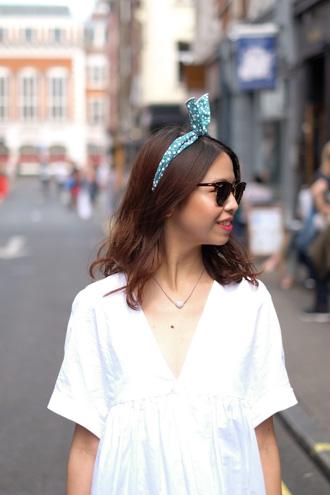 zara white summer dress soho london yumchaa