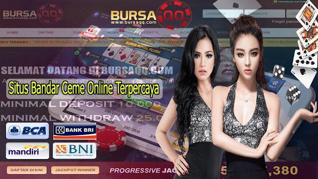 Situs Bandar Ceme Online Terpercaya