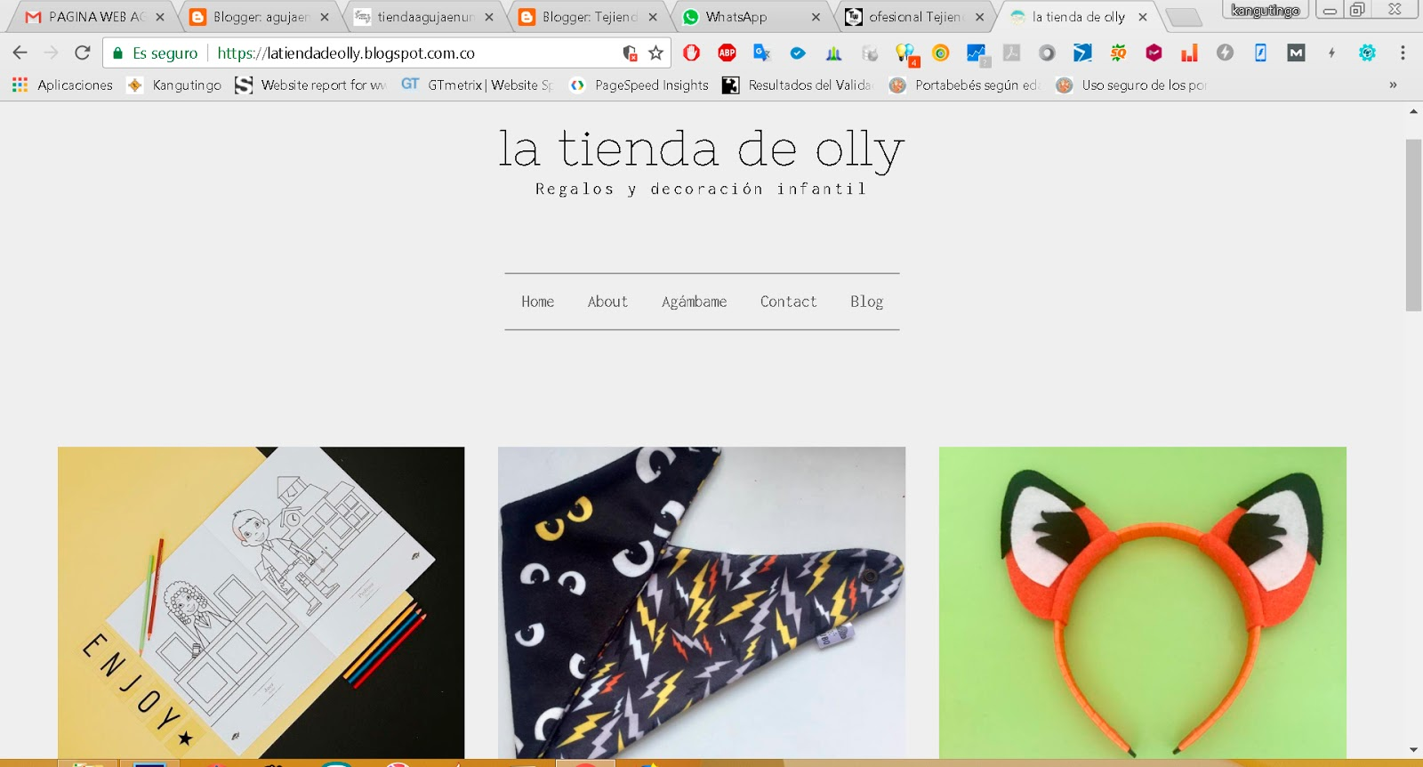 La tienda de Olly