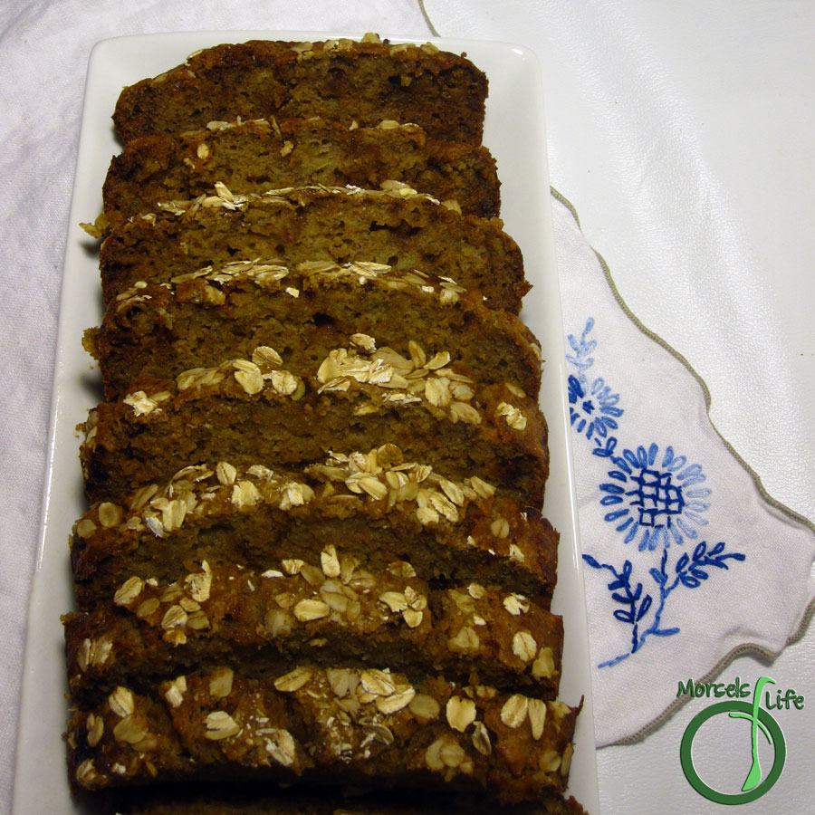 Morsels of Life - Nana's Banana Bread - A fluffy banana bread with molasses that's sure to please.