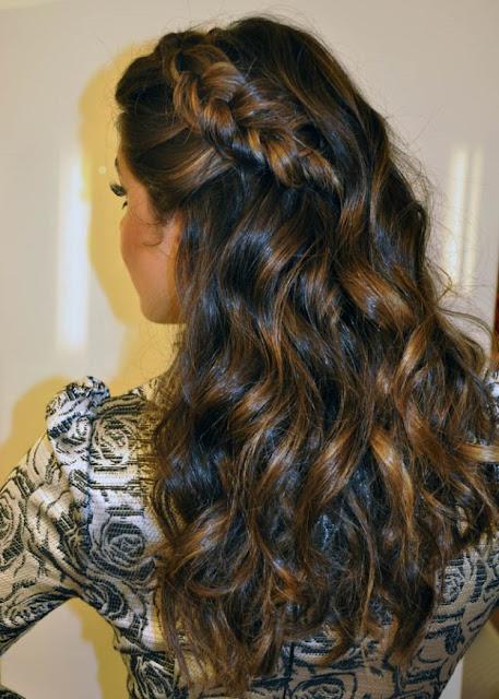 penteado madrinha dia