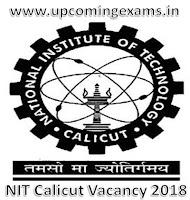 NIT_Calicut_Recruitment_2018