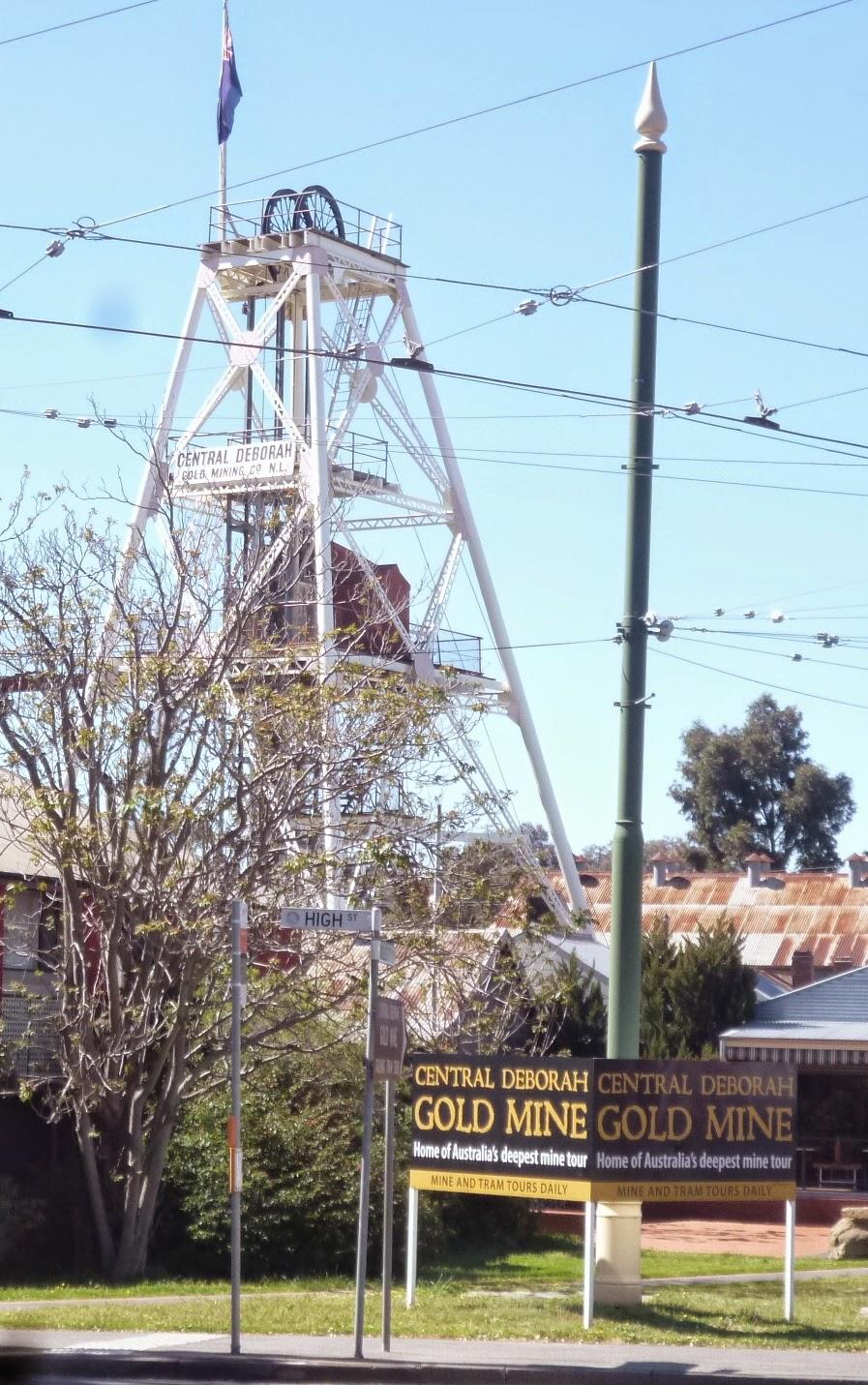 Bendigo - Central Deborah Gold Mine
