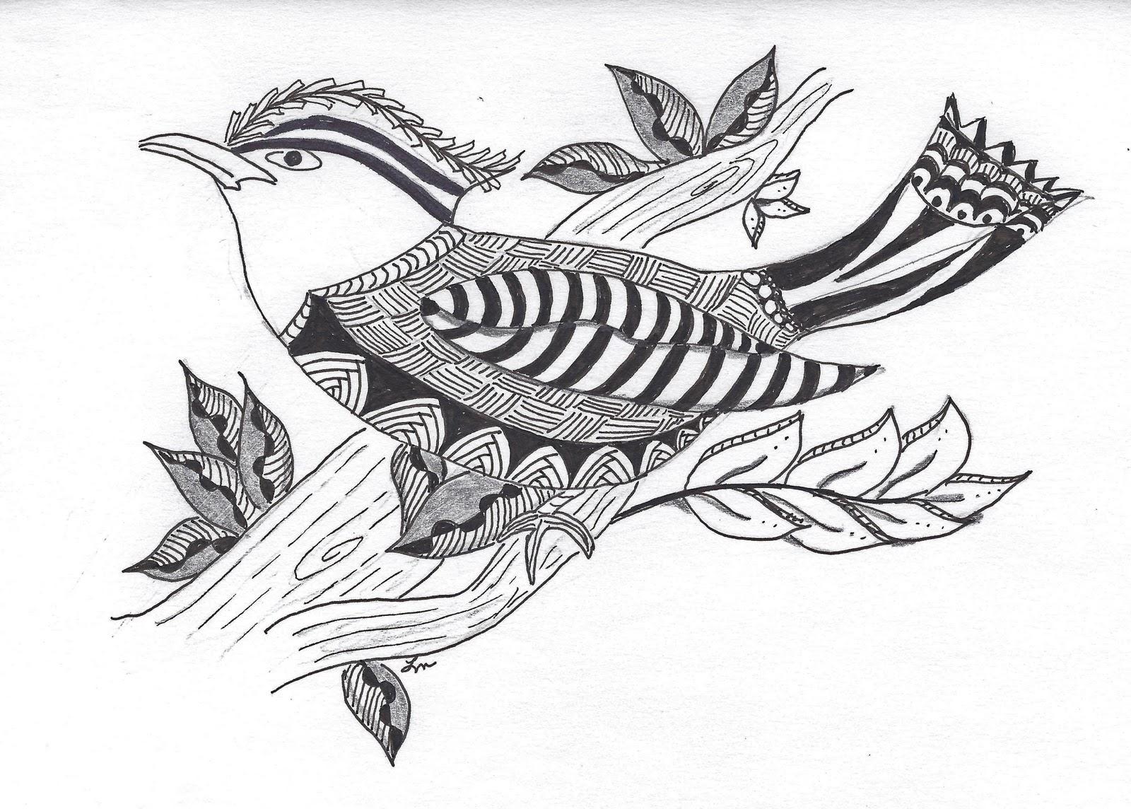 Pen Paper Happiness Birds