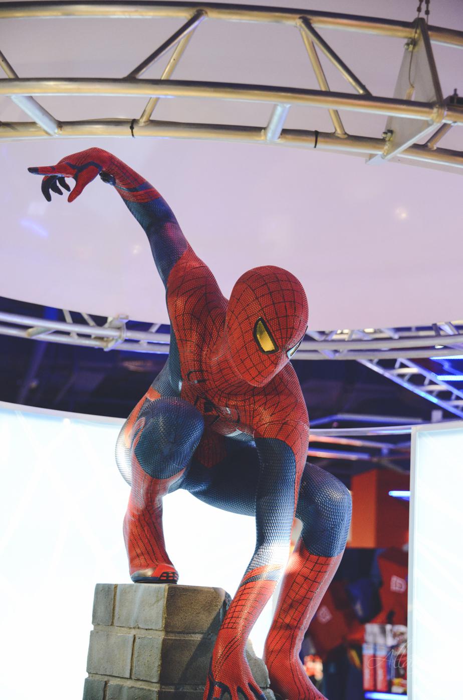 Spiderman in Detsky Mir shop