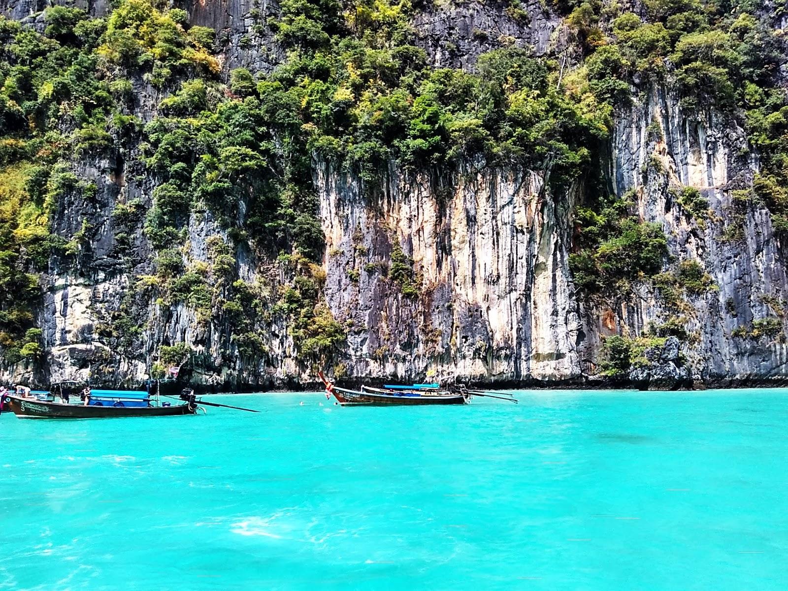 Tailandia Hong Island sem filtro azul