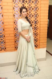 Raashi Khanan looks stunning in Crop Top Deep neck Choli Ghagra Transparent Chunni WOW ~  Exclusive Celebrities Galleries 063.JPG