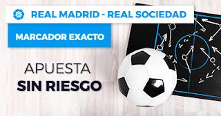 Paston Promoción Liga Santander: Real Madrid vs Real Sociedad 10 febrero
