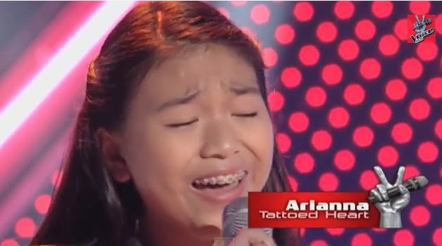 Arianna Ocampo is 5th 3-chair turner on 'The Voice Kids' Philippines